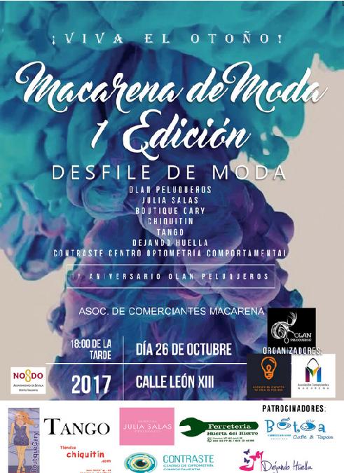 VIVA EL OTOÑO-MACARENA DE MODA 1º EDICIÓN
